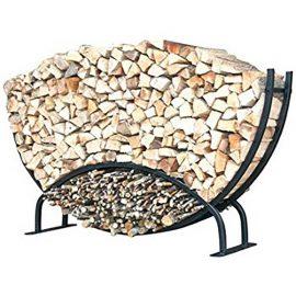 Suport semicerc mic lemne de foc