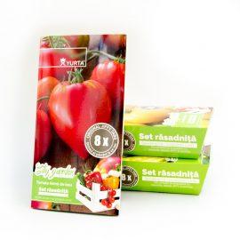 Set rasadnita medie – Tomate inima de bou