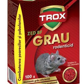 Grâu raticid combatere șoareci și șobolani 100 gr