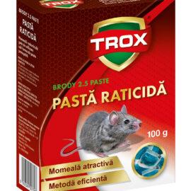 Pasta raticidă pentru  combaterea șoareci și șobolani 100 gr
